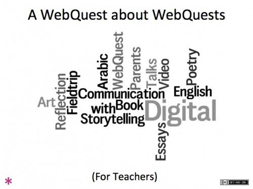 WebQuest, Bon Education, Digital Literacy, Critical Thinking